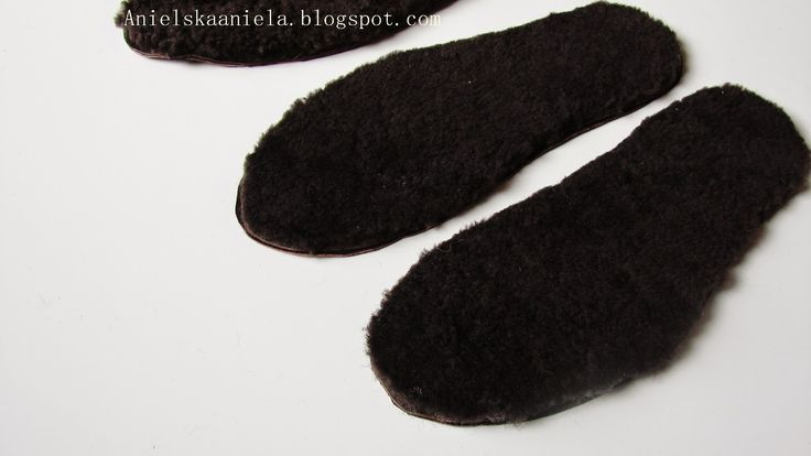 diy tutorial SHOE INSERT  Jak ocieplić buty? insoles for shoes how to