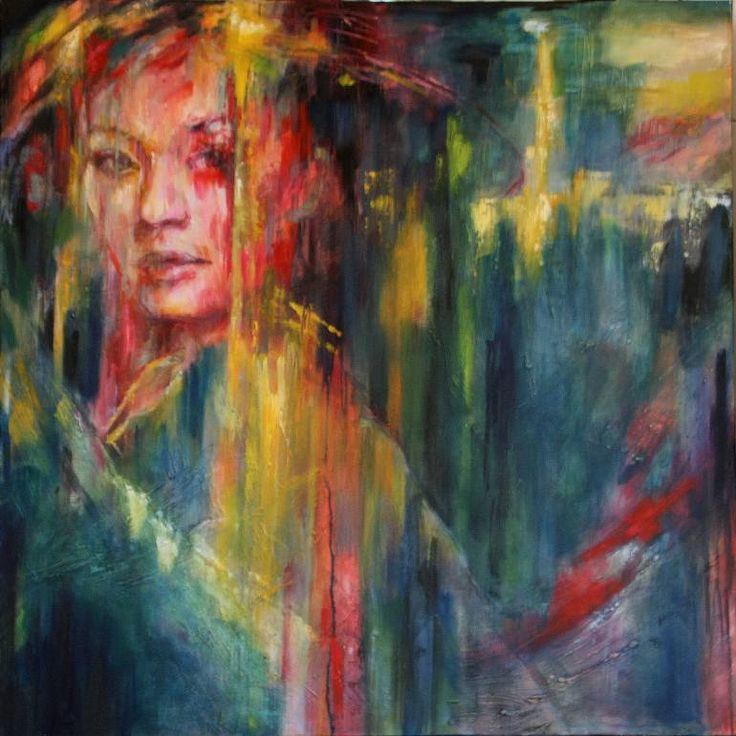 """Saatchi Art Artist Evelyn Hamilton; Painting, """"Misaki"""" #art"""