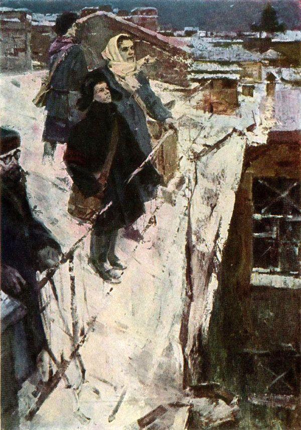 O. Lomakin. Leningrad in Fight.