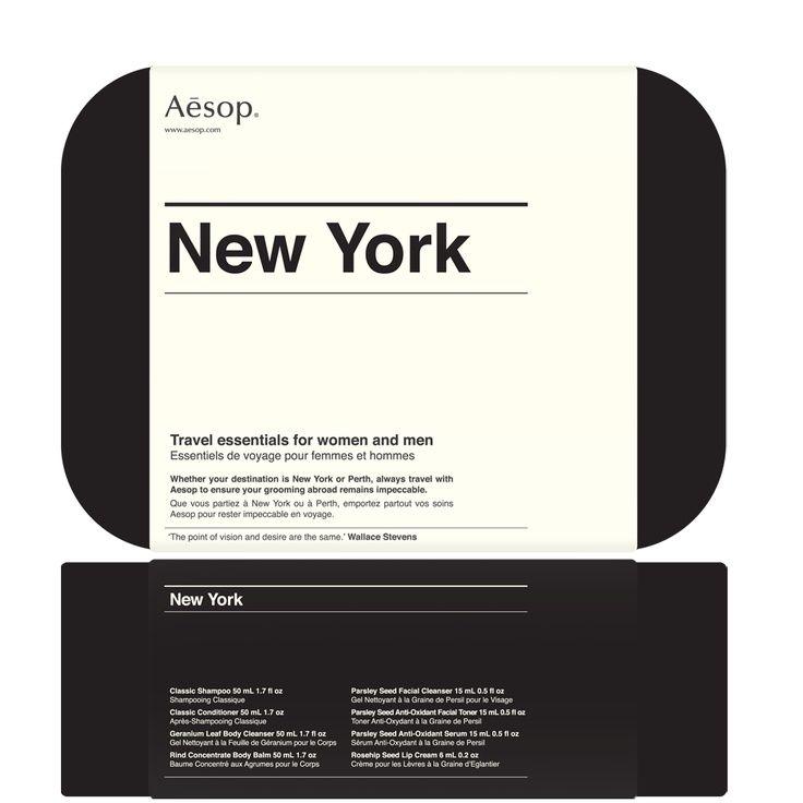 Aesop. Clean branding