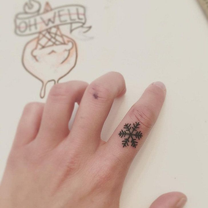 Cute Christmas Tattoos That'll Give You Festive Cheer All Year Round