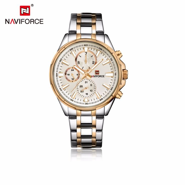 Like and Share if you want this  NAVIFORCE Male Clock Men Watch Gold Stainless steel Quartz Watch Men's Casual watch Relogio Masculino reloj homme Watches     Tag a friend who would love this!     FREE Shipping Worldwide     Buy one here---> https://shoppingafter.com/products/naviforce-male-clock-men-watch-gold-stainless-steel-quartz-watch-mens-casual-watch-relogio-masculino-reloj-homme-watches/