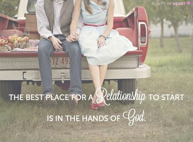 Inspiration-- He is the One who brings them together in the first place and will use them for His glory if they are surrendered to His will.