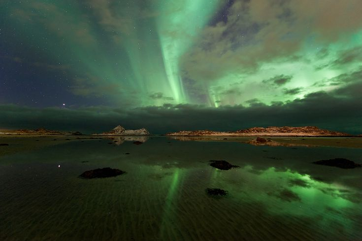 Northern lights: Auroraborialis, Inspiration, Favorite Places, Nature, Northern Lights, Aurora Borealis, Lights Norway, Green Lights