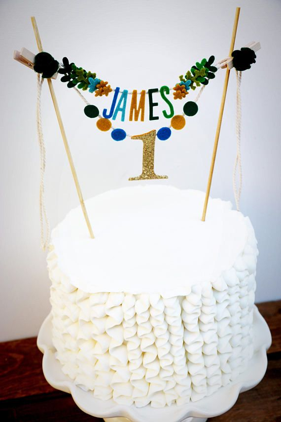 Add A Little Whimsy To Your Ones Birthday Cake With Custom Topper