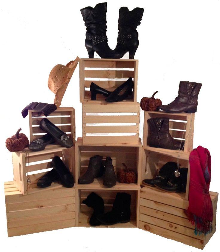 28 best shoe displays images on pinterest shoe display. Black Bedroom Furniture Sets. Home Design Ideas