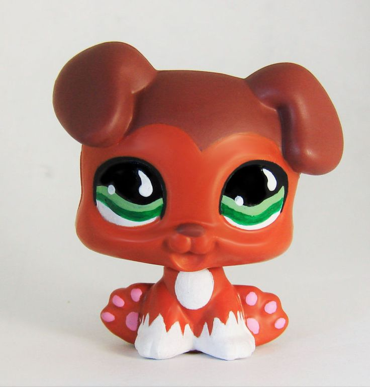 Puppy Savvy (Dachshund from LPS Popular) #675 inspired baby dog LPS Savannah cus #Hasbro