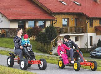 Rychlé káry pro děti i rodiče