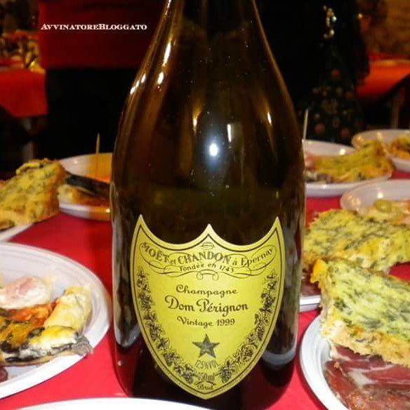 #champagne Dom Perignon Vintage 1999 Brut. Maison Moet&Chandon. #winelovers #winery #chardonnay #pinotnoir #france #sparkling...
