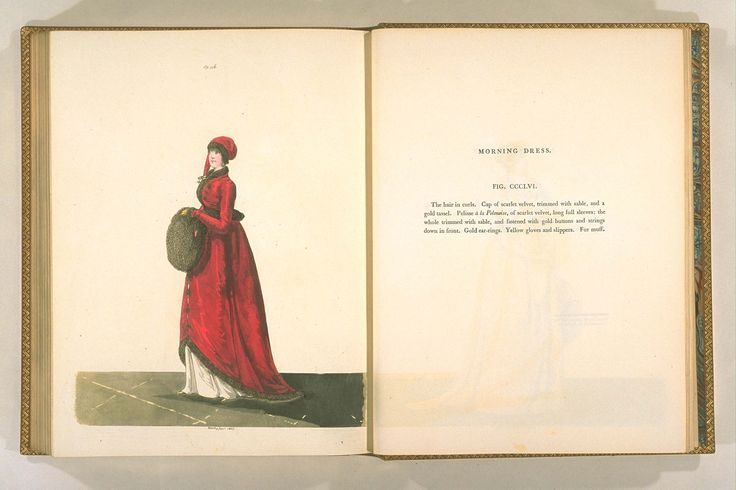 Pelisse a la Polonoise, Gallery of Fashion, January, 1803