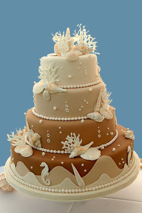 Beach Themed Weddings cake.