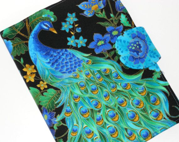 Peacock iPad Cover iPad 2 Cover iPad 3 by ElizabethDavidDesign, $65.00