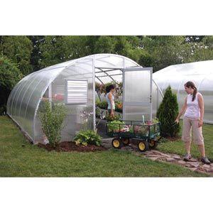 Greenhouses & High Tunnels - Greenhouse Kits - Premium Solar Star Greenhouse Systems - Round Premium Solar Star Greenhouse Kits ...
