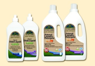 Enter to Win a free bottle of our IYC Laundry Detergent! Contest ends JUNE 30Natural, plant-based cleaning ingredients make If You Care® the natural choice for your dishes, your skin, and the environment. But it also has concentrated cleaning power so it's extra tough on grease and dried food.. Non-toxic, no phosphates, no chlorines, biodegradable, hypoallergenic --and STRONG. Clean and Simple