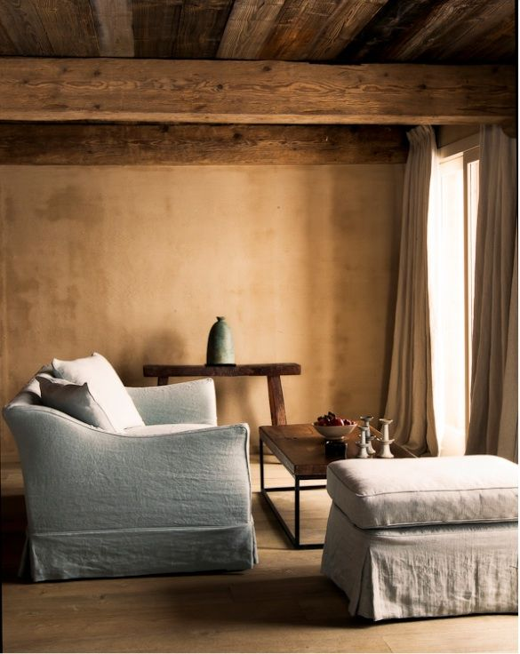 le chalet zannier in the french alps wall finishes chalets and exposed beams. Black Bedroom Furniture Sets. Home Design Ideas
