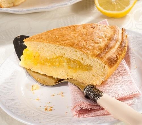 Лимонный пирог   Фото: Олег Кулагин/BurdaMedia