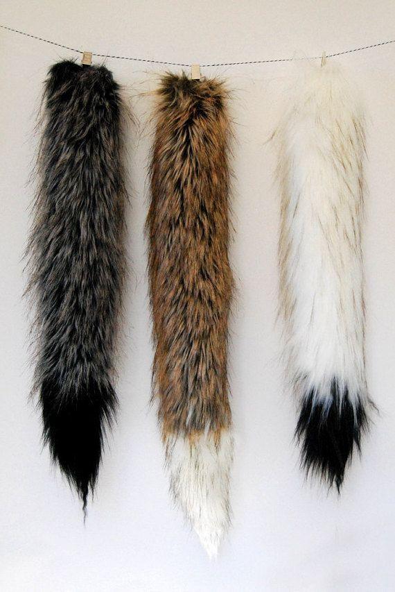 Grijze Wolf Tail geïnspireerd door Where the Wild door Babycricket