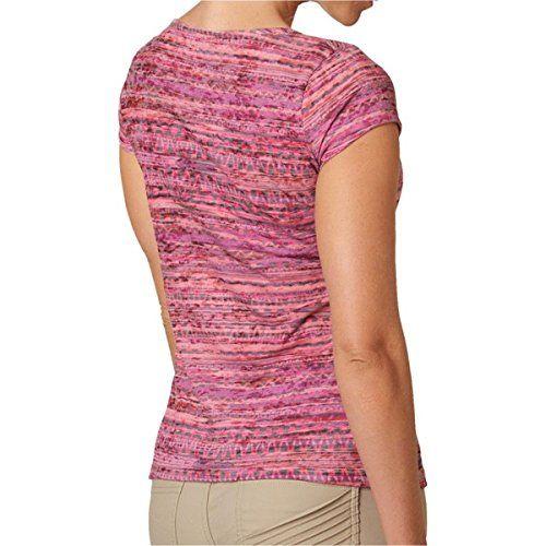 (プラーナ) prAna レディース トップス Tシャツ Garland Tee 並行輸入品  新品【取り寄せ商品のため、お届けまでに2週間前後かかります。】 カラー:Coral カラー:ブラウン