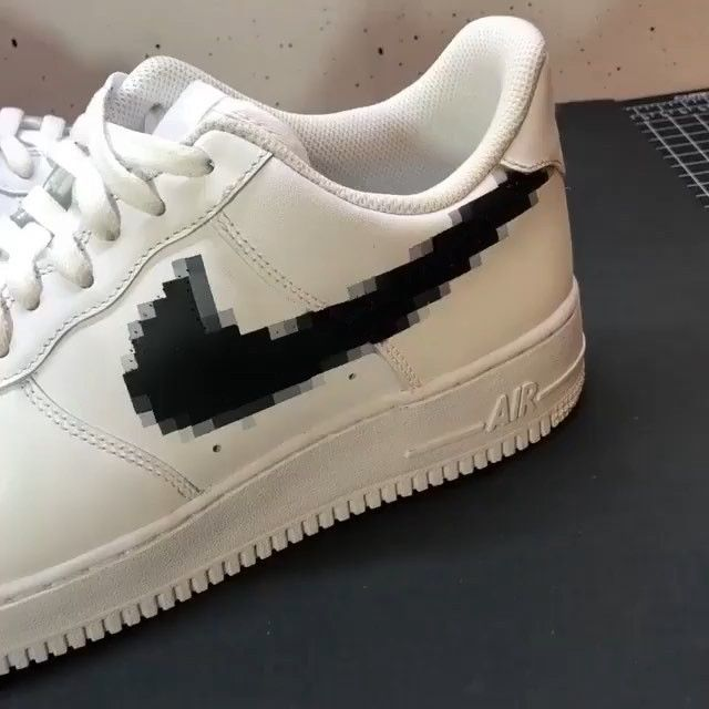 Rate these pixel custom @cleankicks 1 200 #shoeslover
