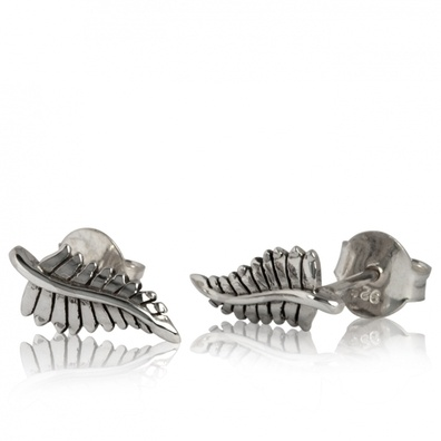 Silver and Some - Evolve - Earrings & Cufflinks, Forever Fern Studs