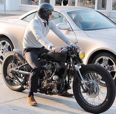 David Beckham on his unfinished custom