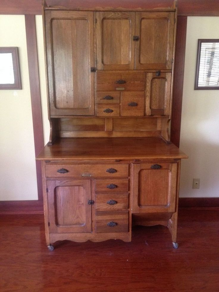 48 Best Images About Hoosier Sellers Cabinets On Pinterest