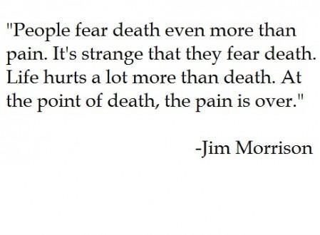 Fear pain and perception