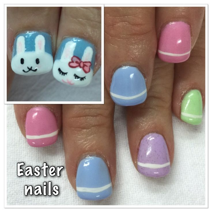 Easter Bunny Nails: 17 Best Images About A Easter Nail Art On Pinterest