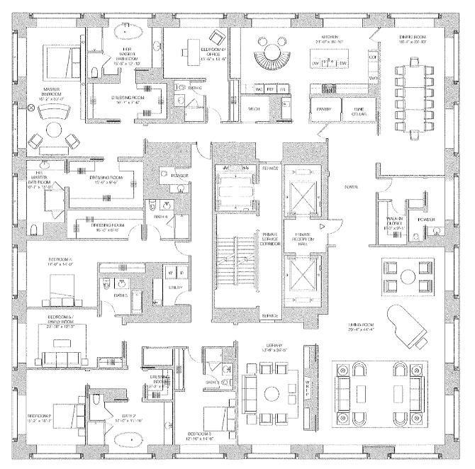 Best 25 432 park avenue ideas on pinterest for High efficiency house plans