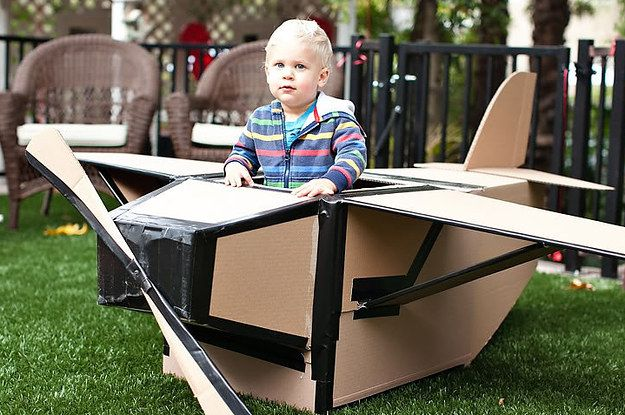 31 Things You Can Make with a Cardboard Box that Will Blow Your Kid's Mind