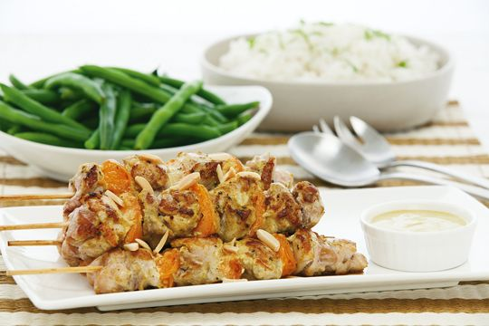 Free jax�s coronation chicken kebabs with apricot and almonds recipe. Try this free, quick and easy jax�s coronation chicken kebabs with apricot and almonds recipe from countdown.co.nz.