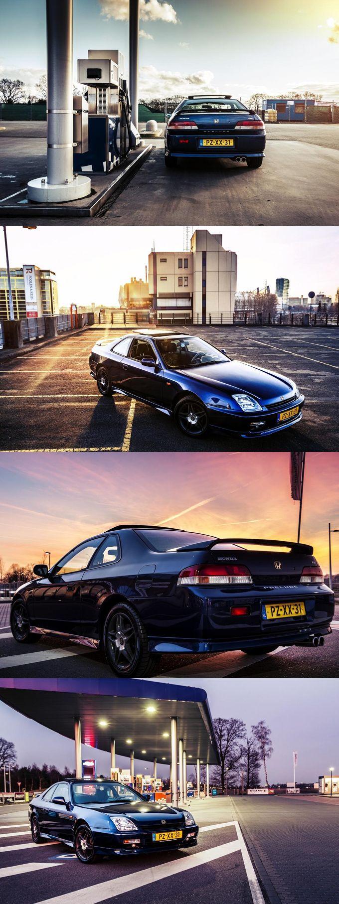 1997 Honda Prelude / blue / Japan / 17-246