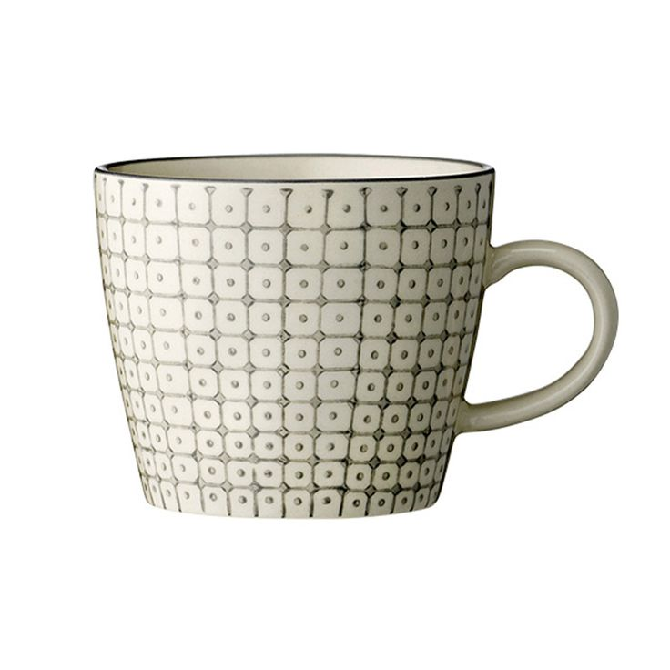 Discover the Bloomingville Carla Mug - Grey at Amara