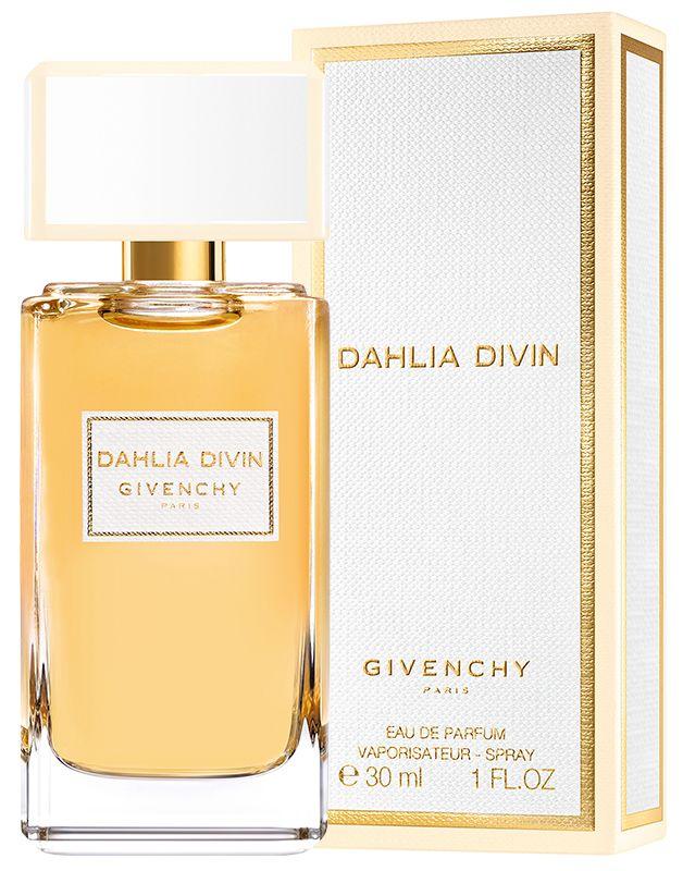 UUTUUS: GIVENCHY Dahlia Divin EdP Säteilevä ja sensuelli tuoksu, jossa keltaista luumua, jasmiinia ja myskiä.