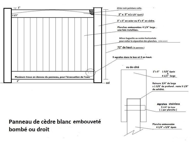 Clôture Avantage et Lévisienne Clôture en cèdre blanc et bois traité. - Clôture Avantage et Lévisienne
