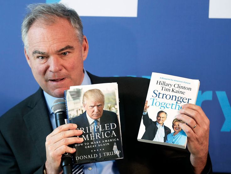 Tim Kaine and Hillary Clinton   Tim Kaine, America's Dad, Makes His Pitch to Millennials - The New ...