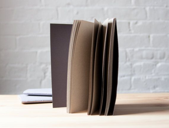 Moonstone Softcover Cotton Notebook  Sketchbook  by knotbooks