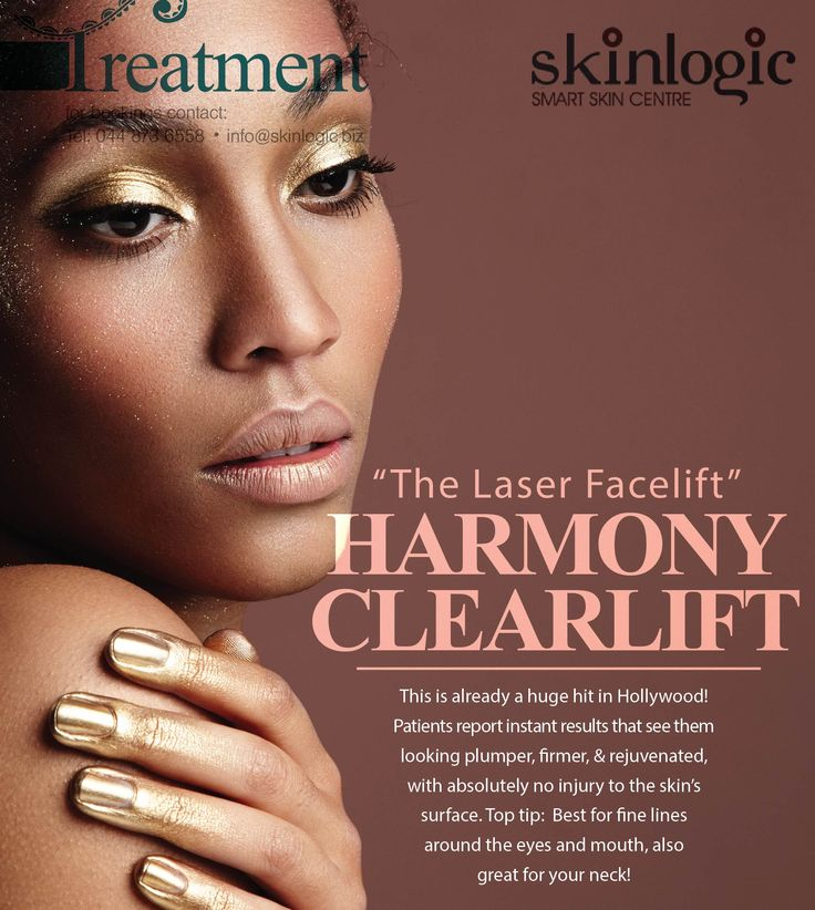Harmony ClearLift – 'Laser #Face Lift' This is already a huge hit in #Hollywood! Patients report instant results that see them looking plumper, #firmer, and #rejuvenated, with absolutely no injury to the #skin's surface. Top tip: Best for #finelines around the #eyes and #mouth, also great for your #neck! #aethetics #SkinlogicSA #SkinCare #Facelift
