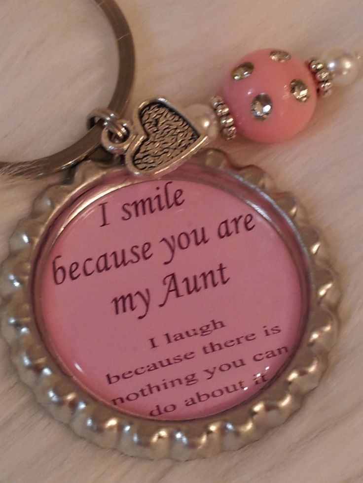 """This may just be my favorite """"Aunt"""" item so far. The humor is perfectly Aunt Willi!    Aunt keychain, Funny quote, Aunt gift, Funny gift. $10.00, via Etsy."""