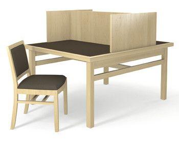 AGATI Furniture   Williams Table Carrel