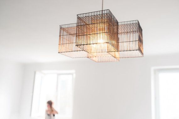 Charade pendant light chandelier by herywalery on Etsy