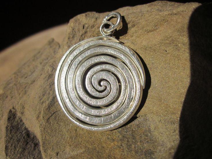 Doppelspirale von Silvana handcrafted jewelry auf DaWanda.com