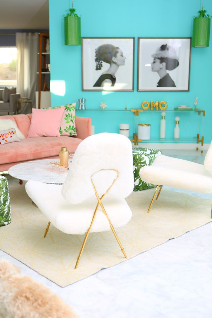Lounge Act Updating Our Lounge With Jonathan Adler Chairs From