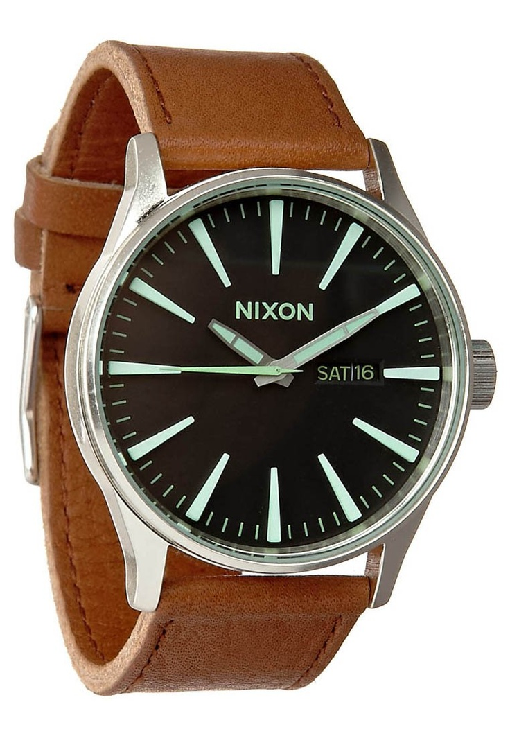 SENTRY LEATHER - Horloges - Bruin