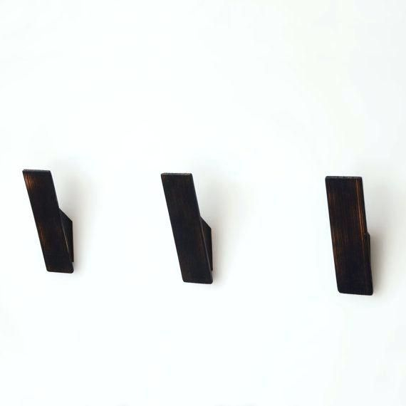 Modern Coat Hooks Australia Modern Coat Hooks Nz Modern Clothes Hooks Black Scorched Ash Coat Hooks Scandinavian Nordic Style Design Towel Hook Wall
