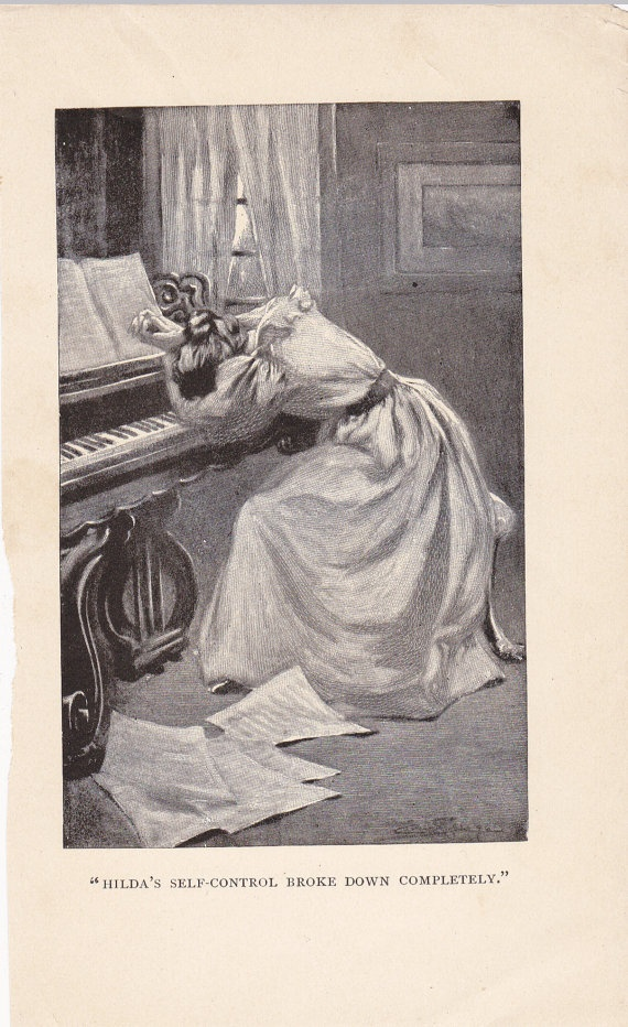Hilda's SelfControl Broke Down Completely 1890s by EphemeraObscura, $4.50