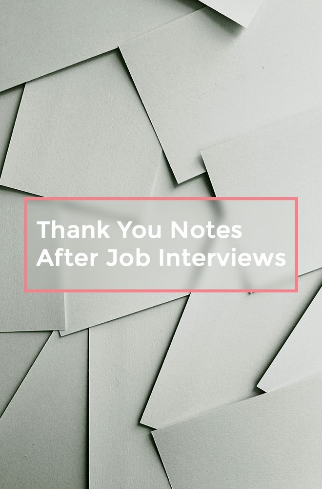 Here's my advice as a former recruiter on how to write the perfect Thank You note after a Job interview and why it's so important