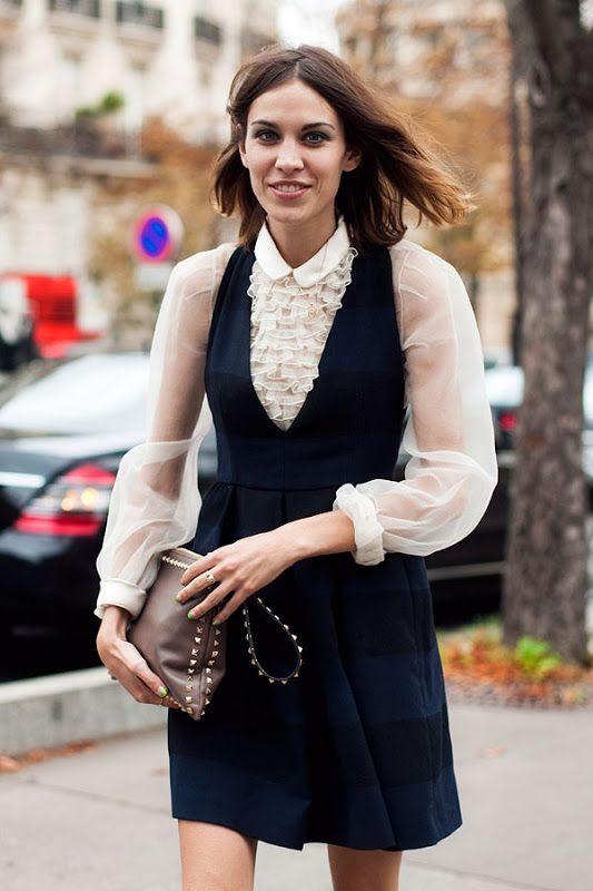 Vanessa Jackman: Paris Fashion Week SS 2012...Alexa