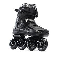 US $67.84 Adults Men's Professional Inline Skate Shoes Freestyle Skating Boots Outdoor Roller Skates Patins Patines White/Black. Aliexpress product