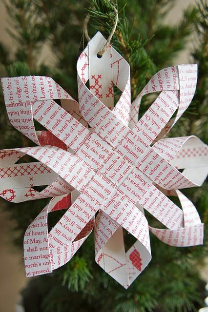 I love 3D paper snowflakes :-)